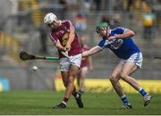 30 June 2019; Robbie Greville of Westmeath in action against Paddy Purcell of Laois during the Joe McDonagh Cup Final match between Laois and Westmeath at Croke Park in Dublin. Photo by Daire Brennan/Sportsfile