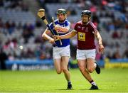 30 June 2019; Paul Greville of Westmeath in action against Aaron Dunphy of Laois during the Joe McDonagh Cup Final match between Laois and Westmeath at Croke Park in Dublin. Photo by Ray McManus/Sportsfile