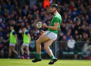 30 June 2019; Kyle Hayes of Limerick celebrates after scoring his side's second goal during the Munster GAA Hurling Senior Championship Final match between Limerick and Tipperary at LIT Gaelic Grounds in Limerick. Photo by Brendan Moran/Sportsfile