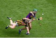 30 June 2019; Shaun Murphy of Wexford in action against Adrian Mullen of Kilkenny during the Leinster GAA Hurling Senior Championship Final match between Kilkenny and Wexford at Croke Park in Dublin. Photo by Daire Brennan/Sportsfile
