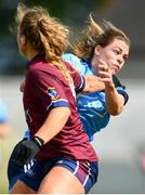 30 June 2019; Noelle Healy of Dublin in action against Jennifer Rogers of Westmeath during the Ladies Football Leinster Senior Championship Final match between Dublin and Westmeath at Netwatch Cullen Park in Carlow. Photo by Sam Barnes/Sportsfile