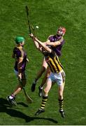 30 June 2019; Paudie Foley of Wexford in action against Walter Walsh of Kilkenny during the Leinster GAA Hurling Senior Championship Final match between Kilkenny and Wexford at Croke Park in Dublin. Photo by Daire Brennan/Sportsfile