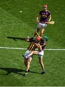 30 June 2019; Adrian Mullen of Kilkenny in action against Shaun Murphy of Wexford during the Leinster GAA Hurling Senior Championship Final match between Kilkenny and Wexford at Croke Park in Dublin. Photo by Daire Brennan/Sportsfile