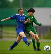 30 June 2019; Action during the game between Carlow and Sligo/Leitrim during the shield final at the Fota Island FAI Gaynor Tournament U15 Finals at UL Sports in the University of Limerick. Photo by Eóin Noonan/Sportsfile