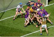 30 June 2019; Colin Fennelly of Kilkenny attacks the Wexford goal near the end of the Leinster GAA Hurling Senior Championship Final match between Kilkenny and Wexford at Croke Park in Dublin. Photo by Daire Brennan/Sportsfile