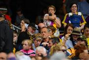 30 June 2019; Cork manager John Meyler in the stands before the Leinster GAA Hurling Senior Championship Final match between Kilkenny and Wexford at Croke Park in Dublin. Photo by Ramsey Cardy/Sportsfile