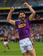 30 June 2019; Paudie Foley of Wexford celebrates following the Leinster GAA Hurling Senior Championship Final match between Kilkenny and Wexford at Croke Park in Dublin. Photo by Ramsey Cardy/Sportsfile
