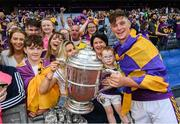 30 June 2019; Conor McDonald of Wexford with his family following the Leinster GAA Hurling Senior Championship Final match between Kilkenny and Wexford at Croke Park in Dublin. Photo by Ramsey Cardy/Sportsfile