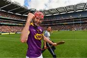 30 June 2019; Paudie Foley of Wexford celebrates after the Leinster GAA Hurling Senior Championship Final match between Kilkenny and Wexford at Croke Park in Dublin.