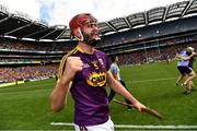 30 June 2019; Paudie Foley of Wexford elebrates after the Leinster GAA Hurling Senior Championship Final match between Kilkenny and Wexford at Croke Park in Dublin. Photo by Ray McManus/Sportsfile