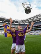 30 June 2019; Joe O'Connor of Wexford following the Leinster GAA Hurling Senior Championship Final match between Kilkenny and Wexford at Croke Park in Dublin. Photo by Ramsey Cardy/Sportsfile