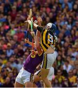 30 June 2019; Huw Lawlor and Padraig Walsh of Kilkenny in action against Conor McDonald of Wexford during the Leinster GAA Hurling Senior Championship Final match between Kilkenny and Wexford at Croke Park in Dublin. Photo by Ray McManus/Sportsfile