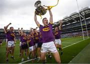 30 June 2019; Rory O'Connor of Wexford celebrates following the Leinster GAA Hurling Senior Championship Final match between Kilkenny and Wexford at Croke Park in Dublin. Photo by Ramsey Cardy/Sportsfile