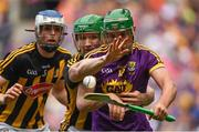 30 June 2019; Conor McDonald of Wexford in action against Paul Murphy of Kilkenny during the Leinster GAA Hurling Senior Championship Final match between Kilkenny and Wexford at Croke Park in Dublin. Photo by Ramsey Cardy/Sportsfile