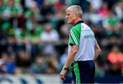 30 June 2019; Limerick manager John Kiely before the Munster GAA Hurling Senior Championship Final match between Limerick and Tipperary at LIT Gaelic Grounds in Limerick. Photo by Piaras Ó Mídheach/Sportsfile