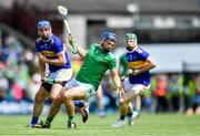 30 June 2019; Mike Casey of Limerick in action against John McGrath of Tipperary during the Munster GAA Hurling Senior Championship Final match between Limerick and Tipperary at LIT Gaelic Grounds in Limerick. Photo by Piaras Ó Mídheach/Sportsfile