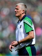30 June 2019; Limerick manager John Kiely during the Munster GAA Hurling Senior Championship Final match between Limerick and Tipperary at LIT Gaelic Grounds in Limerick. Photo by Piaras Ó Mídheach/Sportsfile