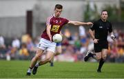29 June 2019; John Heslin of Westmeath the GAA Football All-Ireland Senior Championship Round 3 match between Westmeath and Clare at TEG Cusack Park in Mullingar, Westmeath. Photo by Sam Barnes/Sportsfile