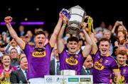 30 June 2019; Conor McDonald and Cathal Dunbar of Wexford following the Leinster GAA Hurling Senior Championship Final match between Kilkenny and Wexford at Croke Park in Dublin. Photo by Ramsey Cardy/Sportsfile