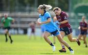 30 June 2019; Nicole Owens of Dublin during the Ladies Football Leinster Senior Championship Final match between Dublin and Westmeath at Netwatch Cullen Park in Carlow. Photo by Sam Barnes/Sportsfile