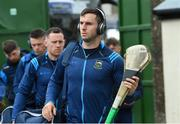 30 June 2019; Tipperary player Cathal Barrett arrives before the Munster GAA Hurling Senior Championship Final match between Limerick and Tipperary at LIT Gaelic Grounds in Limerick. Photo by Piaras Ó Mídheach/Sportsfile
