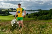 2 July 2019; Hugh McFadden of Donegal during the GAA Football All Ireland Senior Championship Series National Launch at Concra Wood Golf & Country Club in Castleblayney, Co. Monaghan. Photo by Sam Barnes/Sportsfile