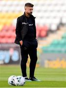28 June 2019; Shamrock Rovers sporting director Stephen McPhail prior to the SSE Airtricity League Premier Division match between Shamrock Rovers and Dundalk at Tallaght Stadium in Dublin. Photo by Ben McShane/Sportsfile