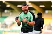 28 June 2019; Shamrock Rovers strength & conditioning coach Darren Dillon prior to the SSE Airtricity League Premier Division match between Shamrock Rovers and Dundalk at Tallaght Stadium in Dublin. Photo by Ben McShane/Sportsfile
