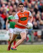 29 June 2019; Jarlath Óg Burns of Armagh during the GAA Football All-Ireland Senior Championship Round 3 match between Mayo and Armagh at Elverys MacHale Park in Castlebar, Mayo. Photo by Ben McShane/Sportsfile