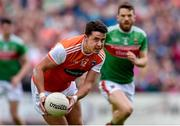 29 June 2019; Stefan Campbell of Armagh during the GAA Football All-Ireland Senior Championship Round 3 match between Mayo and Armagh at Elverys MacHale Park in Castlebar, Mayo. Photo by Ben McShane/Sportsfile