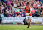29 June 2019; Rory Grugan of Armagh during the GAA Football All-Ireland Senior Championship Round 3 match between Mayo and Armagh at Elverys MacHale Park in Castlebar, Mayo. Photo by Ben McShane/Sportsfile
