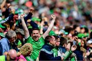 30 June 2019; A Limerick supporter during the Munster GAA Hurling Senior Championship Final match between Limerick and Tipperary at LIT Gaelic Grounds in Limerick. Photo by Piaras Ó Mídheach/Sportsfile