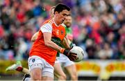 29 June 2019; Rory Grugan of Armagh during the GAA Football All-Ireland Senior Championship Round 3 match between Mayo and Armagh at Elverys MacHale Park in Castlebar, Mayo. Photo by Brendan Moran/Sportsfile