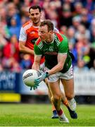 29 June 2019; Colm Boyle of Mayo during the GAA Football All-Ireland Senior Championship Round 3 match between Mayo and Armagh at Elverys MacHale Park in Castlebar, Mayo. Photo by Brendan Moran/Sportsfile