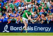 30 June 2019; Declan Hannon of Limerick during the Munster GAA Hurling Senior Championship Final match between Limerick and Tipperary at LIT Gaelic Grounds in Limerick. Photo by Brendan Moran/Sportsfile