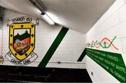 29 June 2019; A warm up room awaits players prior to the GAA Football All-Ireland Senior Championship Round 3 match between Mayo and Armagh at Elverys MacHale Park in Castlebar, Mayo. Photo by Brendan Moran/Sportsfile