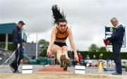 6 July 2019; Aisling Cassidy of Leevale AC, Co. Cork, competing in the Junior Long Jump during the Irish Life Health Junior and U23 Outdoor Track and Field Championships at Tullamore Harriers Stadium, Tullamore in Offaly. Photo by Sam Barnes/Sportsfile