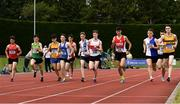 6 July 2019; A general view of the start of the Junior 1500m event during the Irish Life Health Junior and U23 Outdoor Track and Field Championships at Tullamore Harriers Stadium, Tullamore in Offaly. Photo by Sam Barnes/Sportsfile