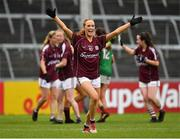 6 July 2019; Olivia Divilly of Galway celebrates after the 2019 TG4 Connacht Ladies Senior Football Final replay between Galway and Mayo at the LIT Gaelic Grounds in Limerick. Photo by Brendan Moran/Sportsfile