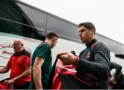 6 July 2019; Lee Keegan of Mayo arriving prior to the GAA Football All-Ireland Senior Championship Round 4 match between Galway and Mayo at the LIT Gaelic Grounds in Limerick. Photo by Eóin Noonan/Sportsfile
