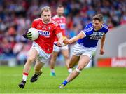 6 July 2019; Michael Hurley of Cork in action against Sean Byrne of Laois during the GAA Football All-Ireland Senior Championship Round 4 match between Cork and Laois at Semple Stadium in Thurles, Tipperary. Photo by Matt Browne/Sportsfile