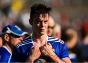 6 July 2019; A dejected Gerard Smith of Cavan after the GAA Football All-Ireland Senior Championship Round 4 match between Cavan and Tyrone at St. Tiernach's Park in Clones, Monaghan. Photo by Oliver McVeigh/Sportsfile