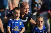 6 July 2019; Cavan Manager Mickey Graham still takes time to pose for photographs with fans after the GAA Football All-Ireland Senior Championship Round 4 match between Cavan and Tyrone at St. Tiernach's Park in Clones, Monaghan. Photo by Oliver McVeigh/Sportsfile