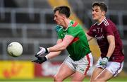 6 July 2019; Cillian O'Connor of Mayo in action against Michael Daly of Galway during the GAA Football All-Ireland Senior Championship Round 4 match between Galway and Mayo at the LIT Gaelic Grounds in Limerick. Photo by Brendan Moran/Sportsfile