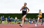 6 July 2019; Niamh Kelly of Letterkenny A.C., Co. Donegal, competing in the U23 3000m event during the Irish Life Health Junior and U23 Outdoor Track and Field Championships at Tullamore Harriers Stadium, Tullamore in Offaly. Photo by Sam Barnes/Sportsfile