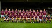 6 July 2019; The Galway squad prior to the GAA Football All-Ireland Senior Championship Round 4 match between Galway and Mayo at the LIT Gaelic Grounds in Limerick. Photo by Brendan Moran/Sportsfile
