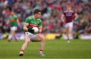 6 July 2019; Lee Keegan of Mayo during the GAA Football All-Ireland Senior Championship Round 4 match between Galway and Mayo at the LIT Gaelic Grounds in Limerick. Photo by Brendan Moran/Sportsfile