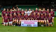 6 July 2019; The Galway team prior to the 2019 TG4 Connacht Ladies Senior Football Final replay between Galway and Mayo at the LIT Gaelic Grounds in Limerick. Photo by Brendan Moran/Sportsfile