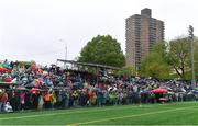 5 May 2019; A general view of spectators before the Connacht GAA Football Senior Championship Quarter-Final match between New York and Mayo at Gaelic Park in New York, USA. Photo by Piaras Ó Mídheach/Sportsfile