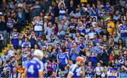 7 July 2019; Laois supporters applaud their players off the field at half-time during the GAA Hurling All-Ireland Senior Championship preliminary round quarter-final match between Laois and Dublin at O'Moore Park in Portlaoise, Laois. Photo by Piaras Ó Mídheach/Sportsfile